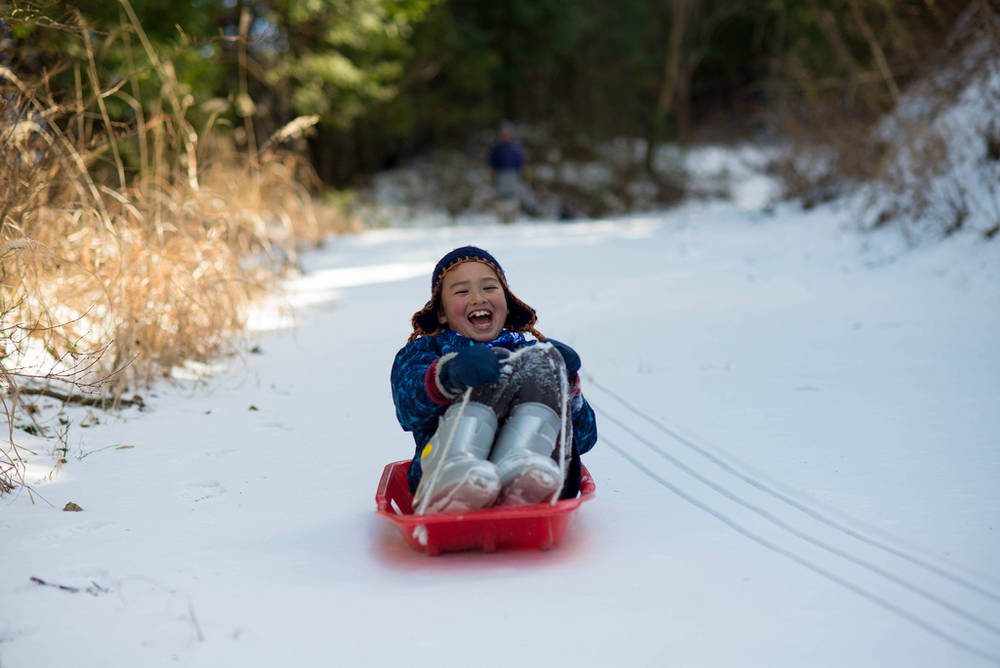Family Friendly Snow Play Fun In Northern California