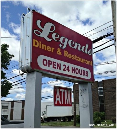 Legends Diner In Secaucus New Jersey Kid Friendly