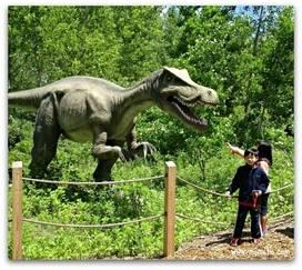 Field Station Dinosaurs in Secaucus, NJ - Kid-friendly