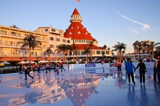 Skating By The Sea Hotel Del Coronado