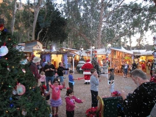 The Sawdust Art Festival Winter Fantasy Laguna Beach California