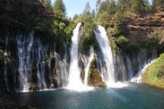 Mcarthur Burney Falls Memorial State Park California