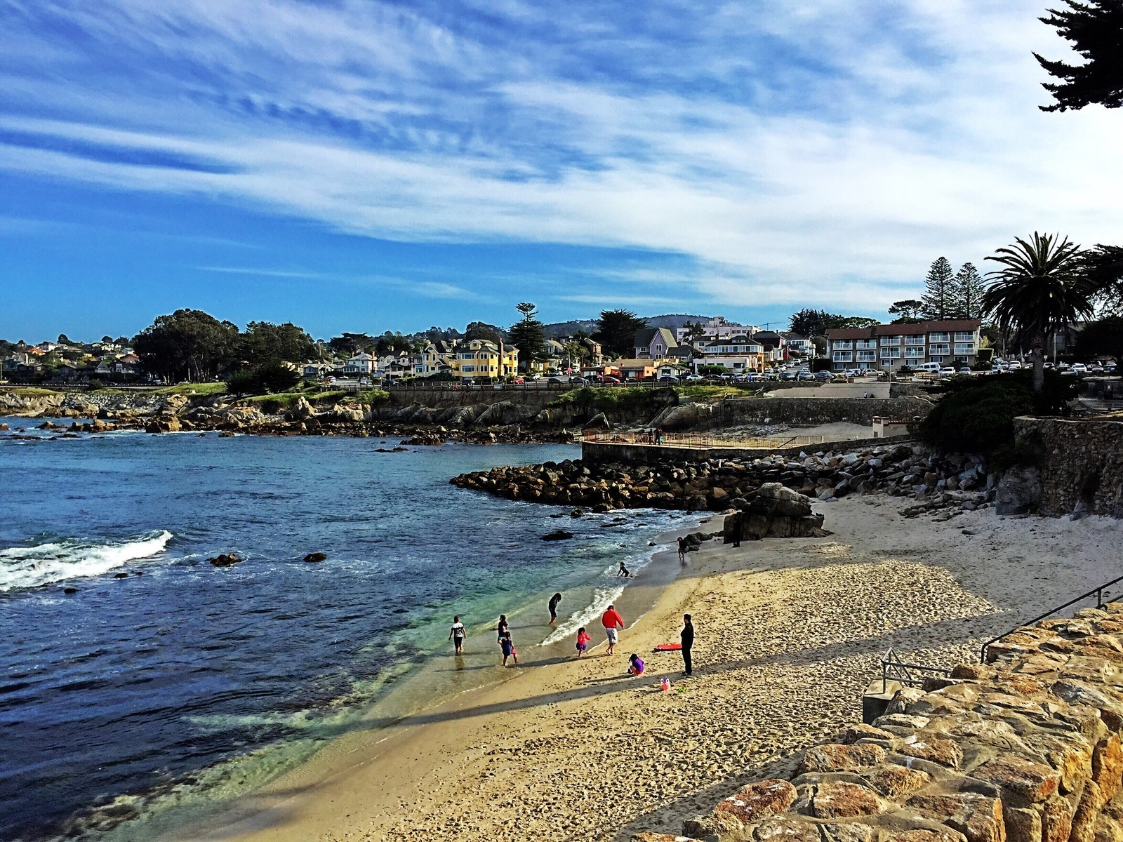 Point Park And Beach Pacific Grove California