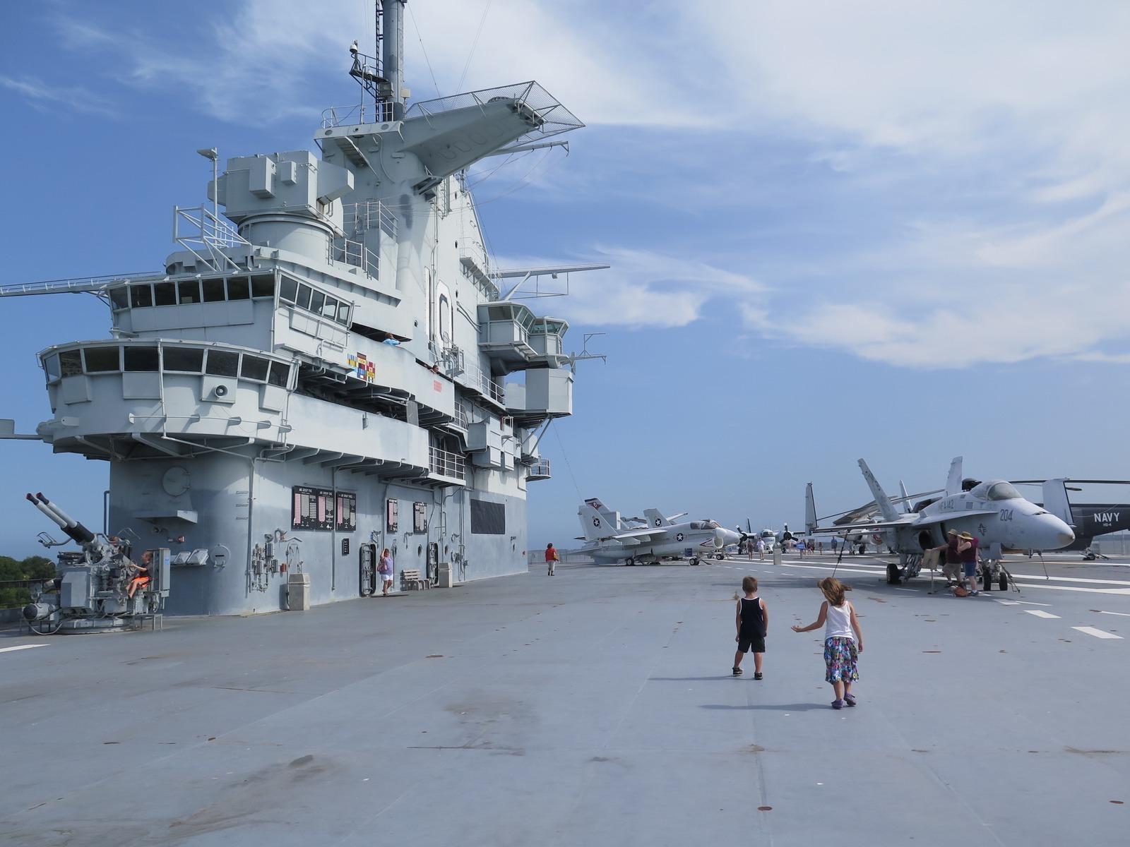 Patriots Point Naval Maritime Museum In Charleston Sc Parent