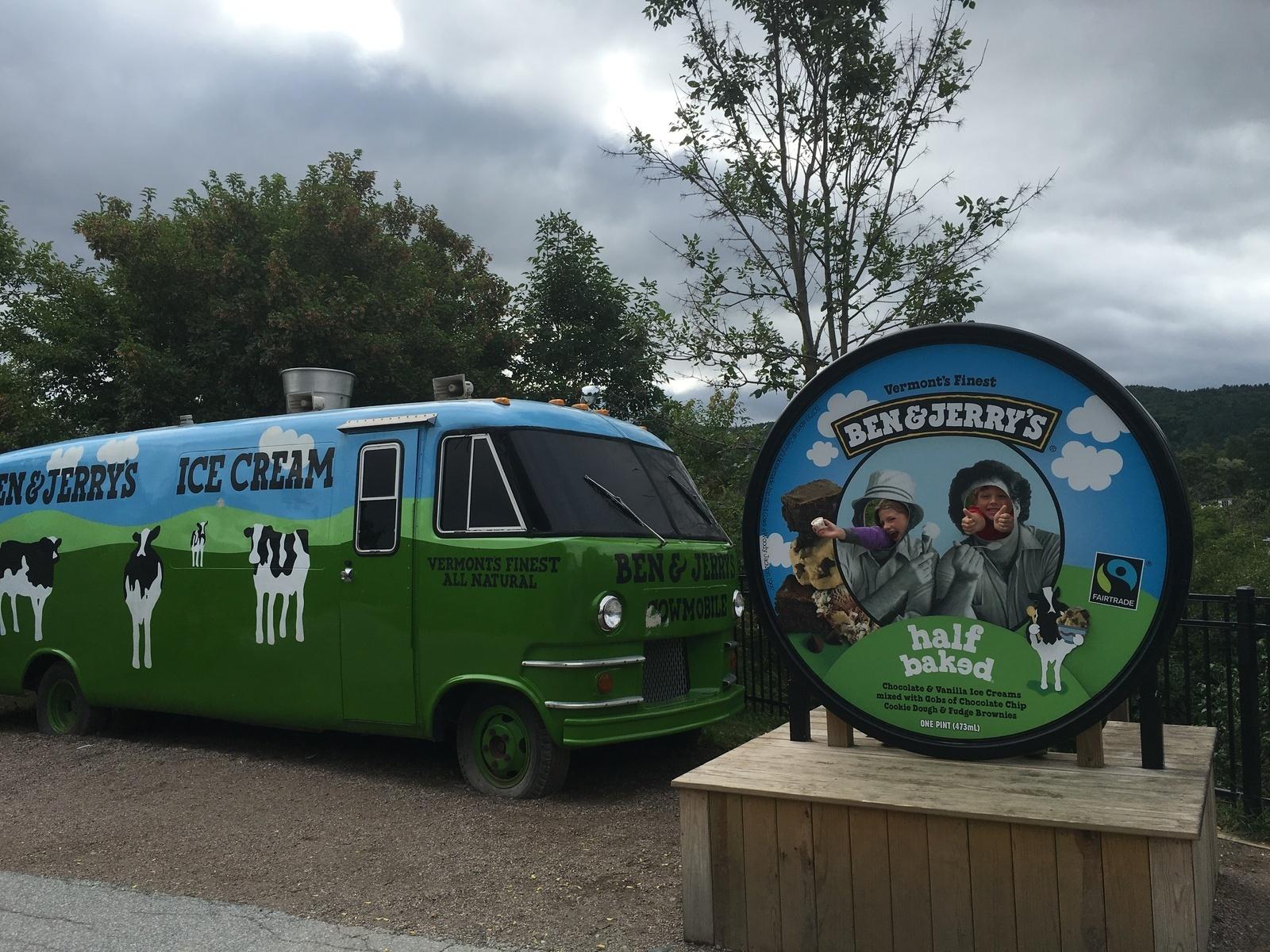 Ben & Jerry's Ice Cream Factory  - Waterbury Center, Vermont