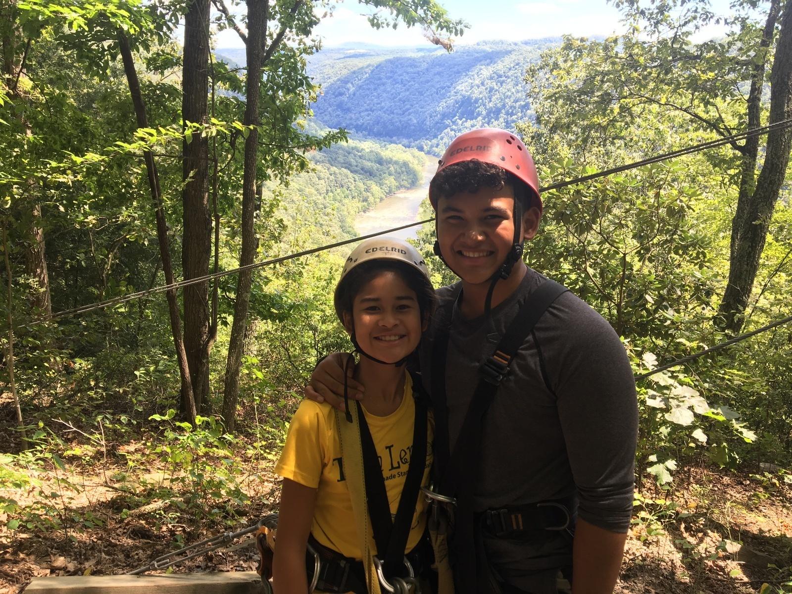 Ace Adventure Resort Zip Line Canopy Tour In Minden Wv Parent