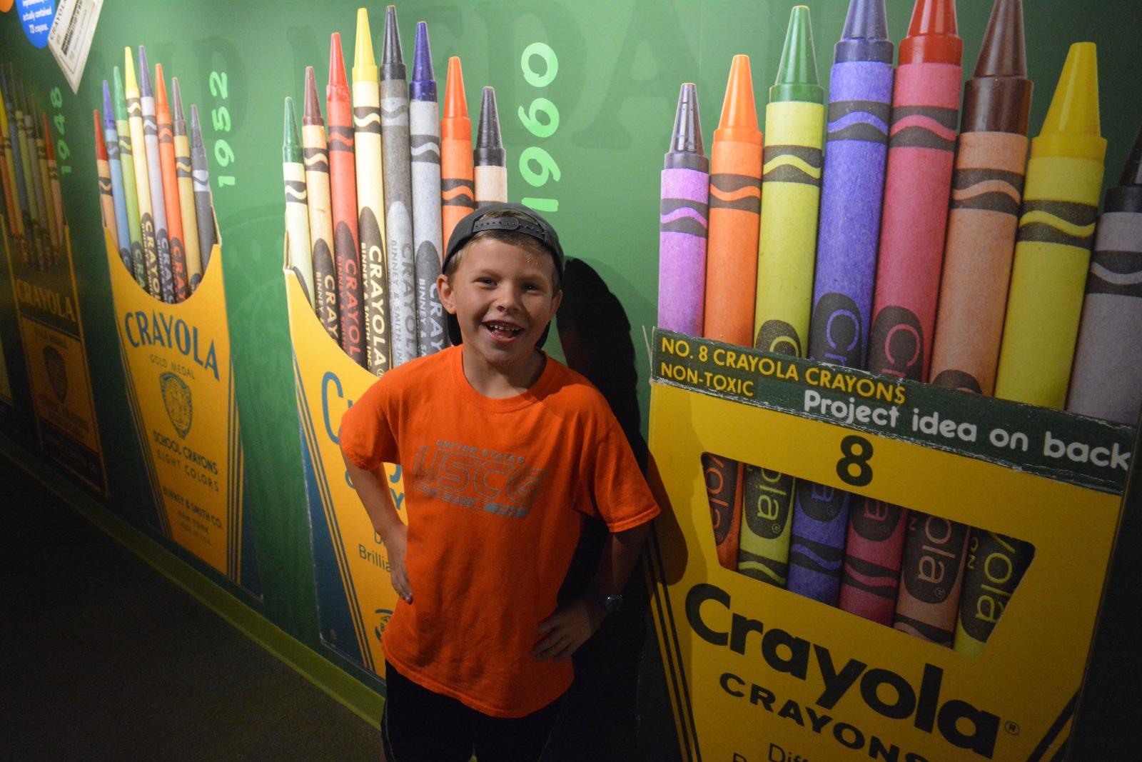 crayola experience in easton pa parent reviews photos trekaroo