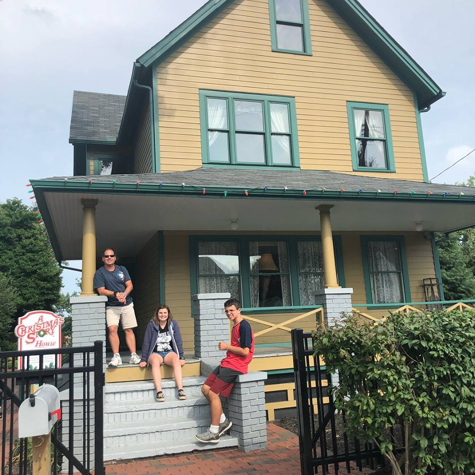 Christmas Story House.A Christmas Story House And Museum In Cleveland Ohio Kid