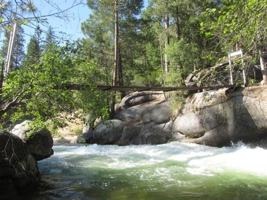 Swinging bridge yosemite pard