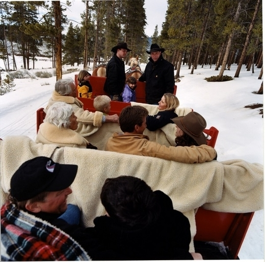 Horse Drawn Sleigh Ride Dinner Keystone Colorado