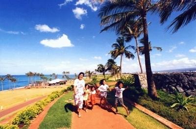 Kakaako Waterfront Park Honolulu Hawaii