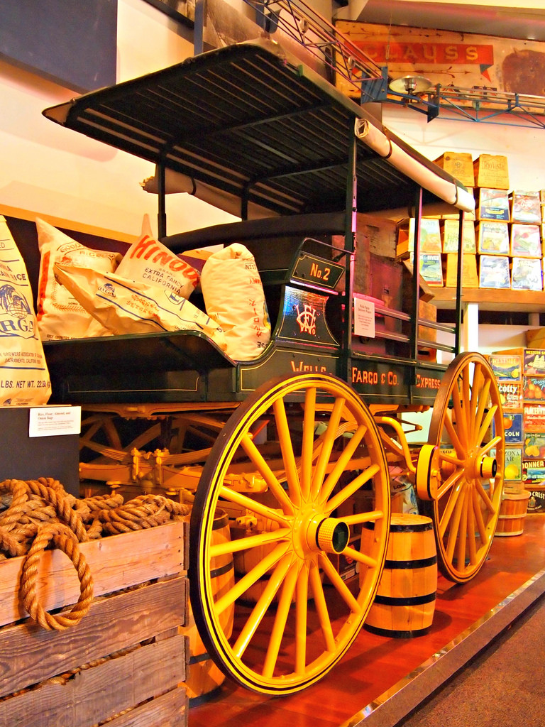 Wells Fargo History Museum In Minneapolis Minnesota Kid