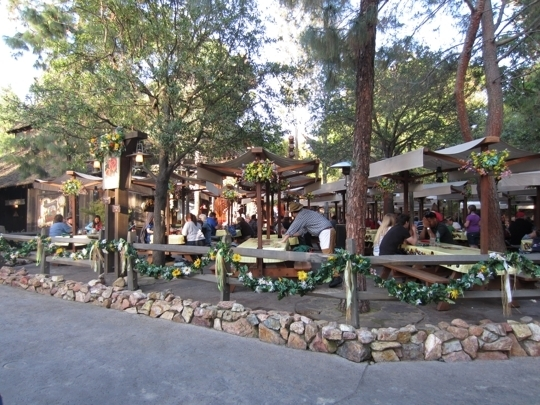 Big Thunder Ranch Barbecue Disneyland Closed Anaheim