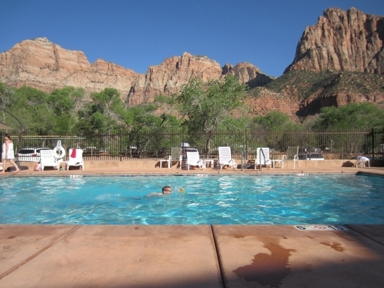 Cable Mountain Lodge Springdale Ut Kid Friendly Hotel