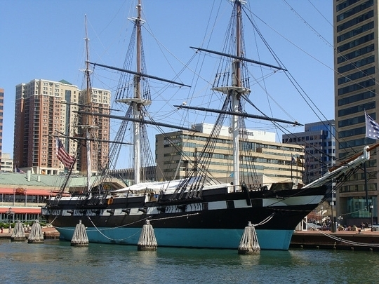 Historic Ships In Baltimore In Baltimore, Maryland