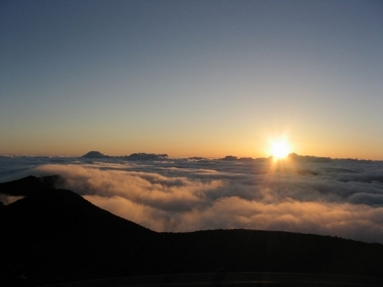 Sunrise atop Haleakala Crater_photo | kids travel, kids activities