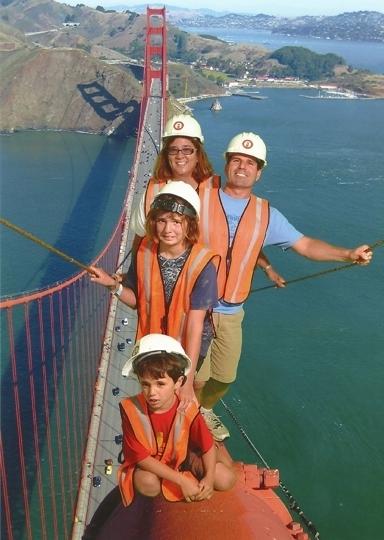 Golden Gate Bridge San Francisco Ca Kid Friendly