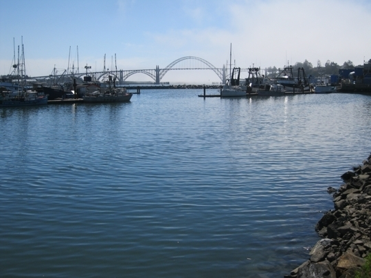 Newport Oregon Historical Bay Front In Newport Or Kid