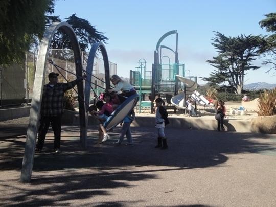 Presidio Wall Playground (formerly Julius Kahn Playground) - San Francisco, California