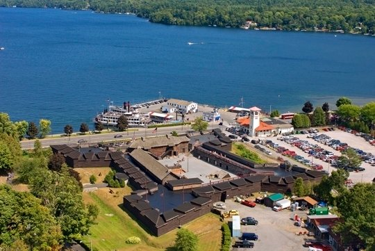 Fort William Henry FWH_aerial_rear