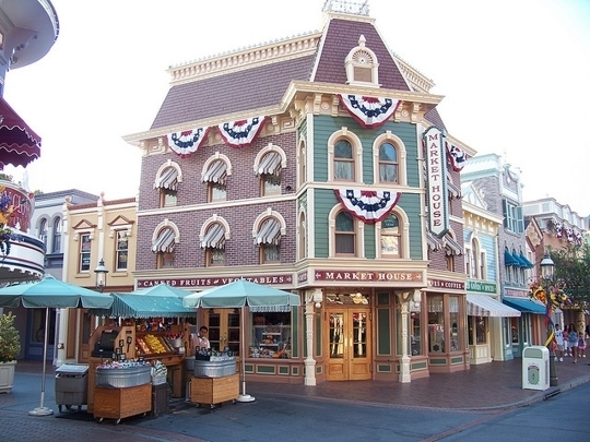 Market House Disneyland Anaheim Ca Kid Friendly