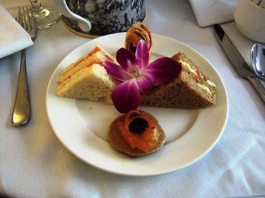 Afternoon Tea at the Fairmont San Jose - San Jose, California