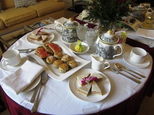 Afternoon Tea At The Fairmont San Jose San Jose Ca
