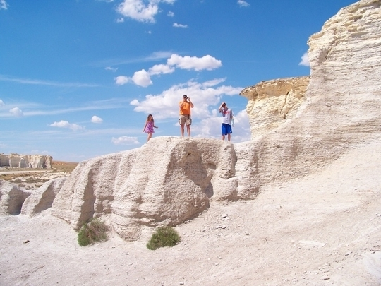 Oakley (KS) United States  city photo : Monument Rocks Chalk Pyramids Oakley, KS Kid friendly activi ...