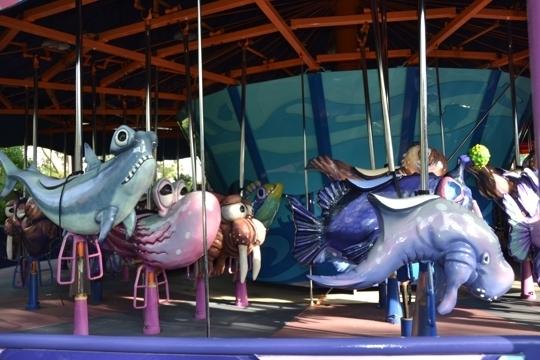 sea carousel at orlando u0026 39 s sea world - orlando  fl - kid friendly ac
