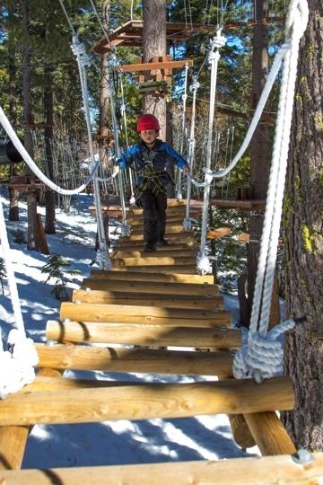 Treetop Adventure Park At Granlibakken Resort Tahoe City