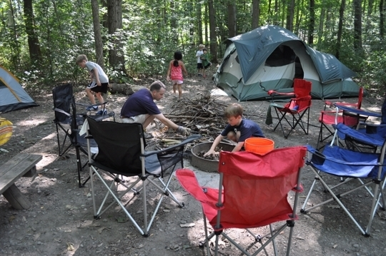 Watkins Glen State Park Campground  Watkins Glen, NY  Kid friendl