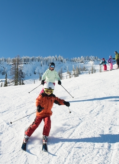 Mission Ridge Ski Resort In Wenatchee, Washington