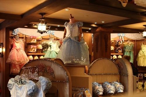 Bibbidi Bobbidi Boutique Downtown Disney Marketplace In