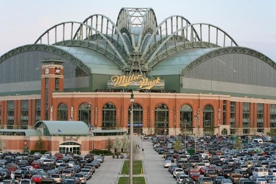 Miller Park Stadium Home Of Milwaukee Brewers