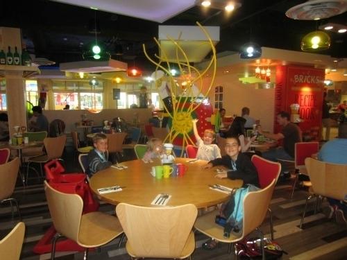 Bricks family restaurant legoland hotel carlsbad ca for Kid friendly restaurants