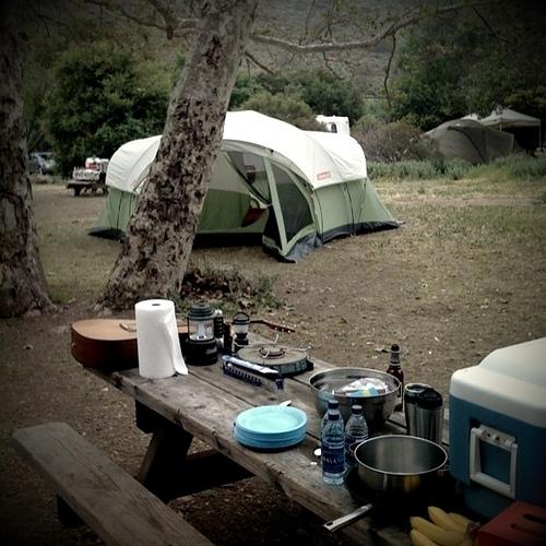 Leo Carillo State Park Campground In Malibu, CA
