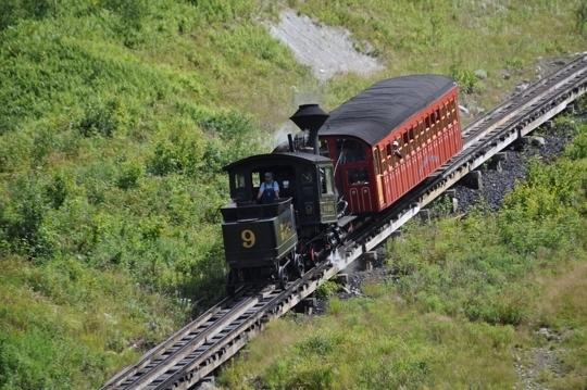 Mount Washington Cog Railway In Bretton Woods Nh Kid