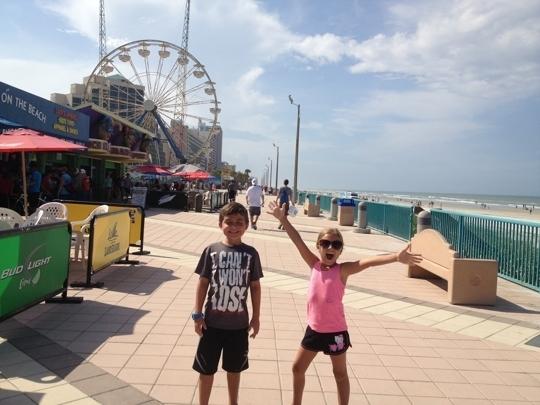 Main Street Pier In Daytona Beach