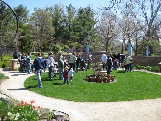 Rotary Botanical Gardens Janesville Wi Kid Friendly