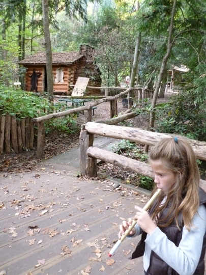 oconaluftee indian village cherokee nc kid friendly