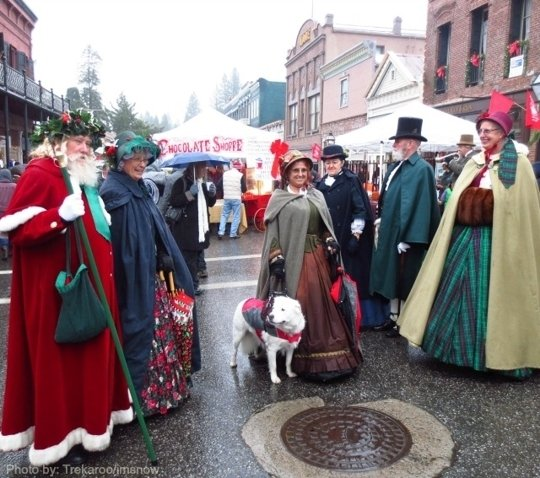 Victorian Christmas In Nevada City California Kid Friendly Attractions Trekaroo
