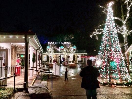 Rock city s annual enchanted garden of lights - Rock city enchanted garden of lights ...