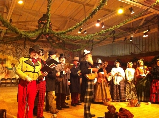 The Great Dickens Christmas Fair San Francisco Ca Kid