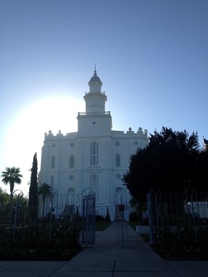 St. George Temple and Visitors Center - Saint George, Utah