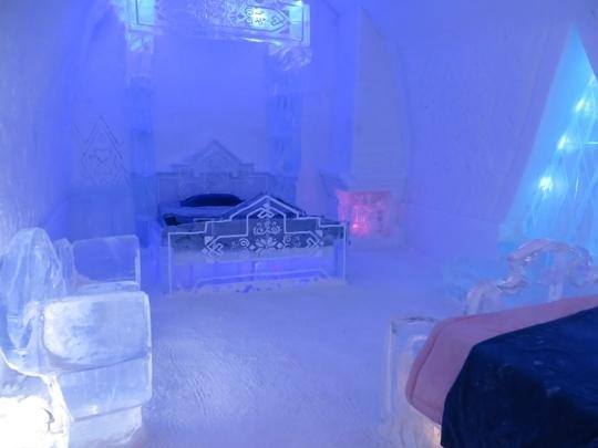 H 244 Tel De Glace Ice Hotel Tour Quebec City Qc Kid