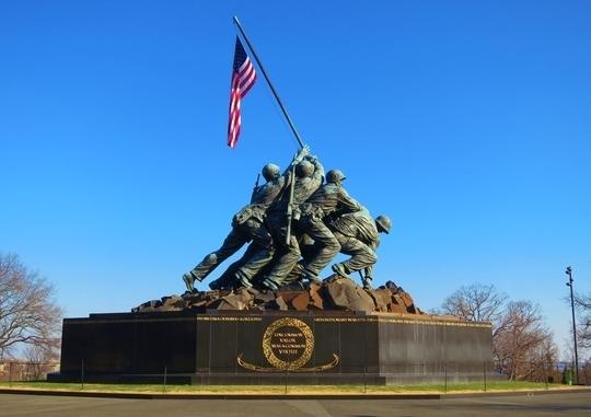 Marine Corps War Memorial - Arlington, VA - Kid friendly ...