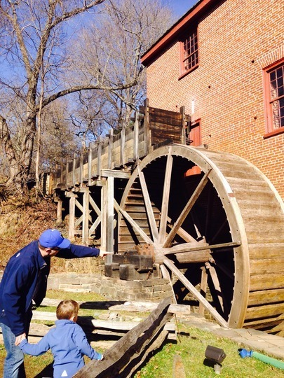 Colvin Run Mill Historic Site In Great Falls, Virginia