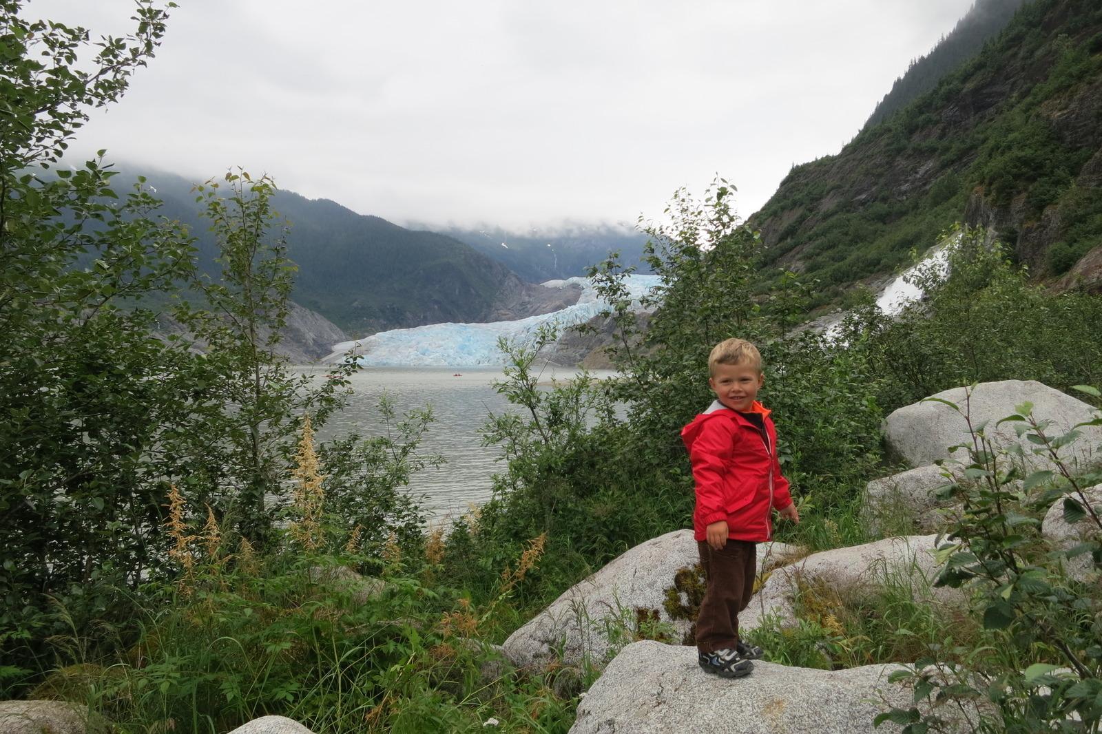 Mendenhall Glacier Juneau Ak Kid Friendly Activity