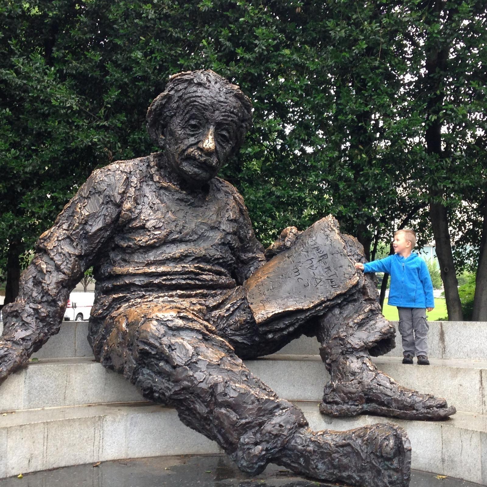 Albert Einstein Memorial  - Washington, District of Columbia