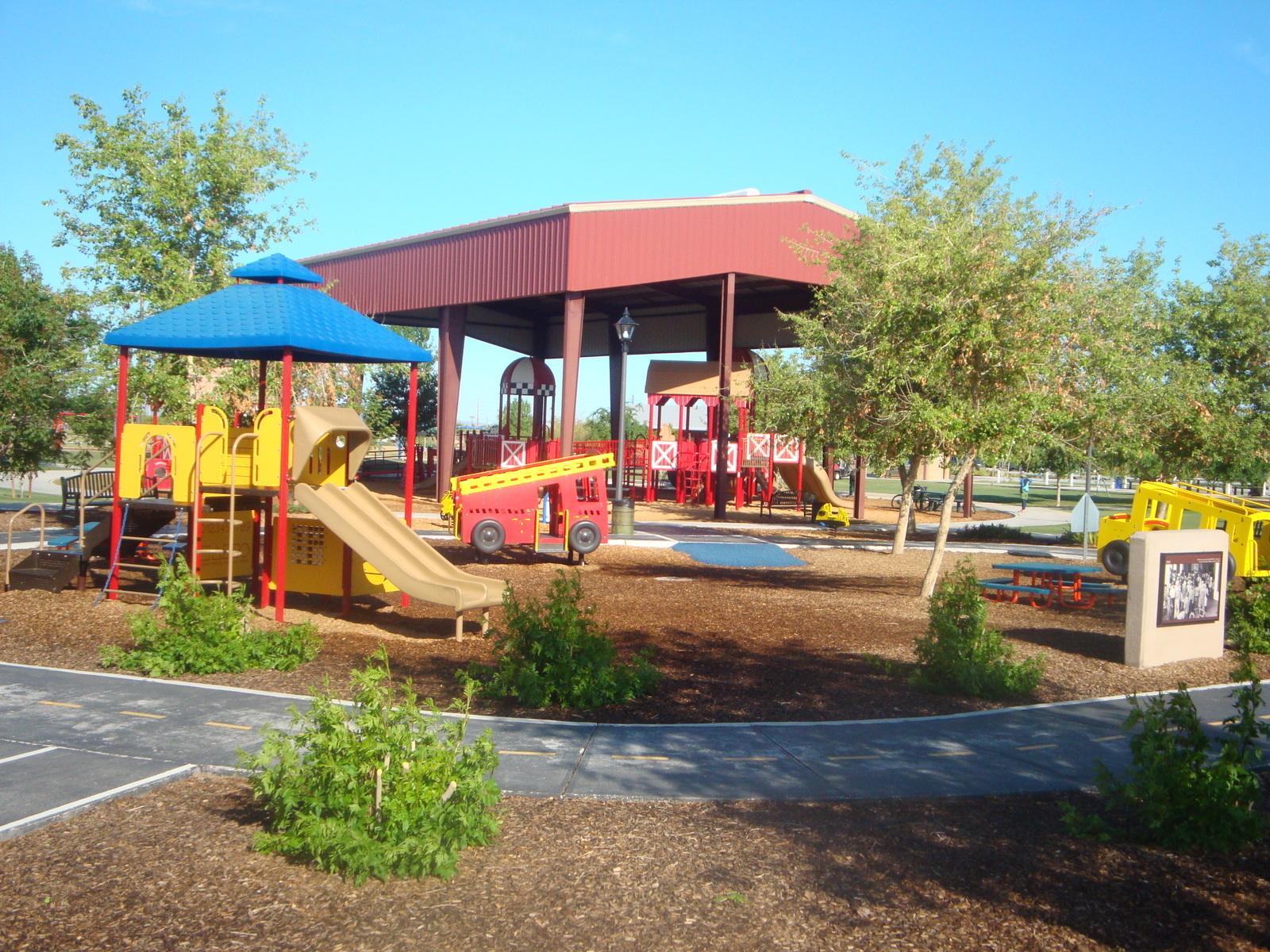 Playtopia At Tumbleweed Park In Chandler, Arizona